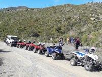Excursión con amigos en quads