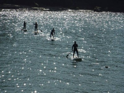 2 hours SUP session in A Coruña