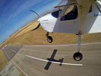 Algodor机场超轻型飞行20分钟