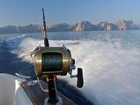 钓鱼顶级渔具渔显示的伟大的一天