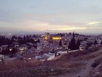 Itinerario attraverso Granada al tramonto
