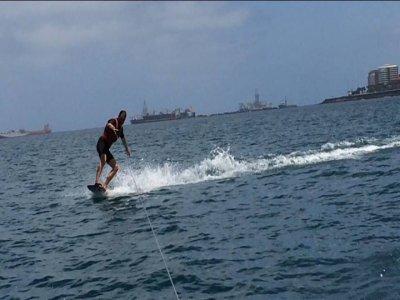 大加那利岛拉斯帕爾馬斯的滑水课程