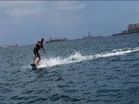 Clase de wakeboard en Las Palmas de Gran Canaria