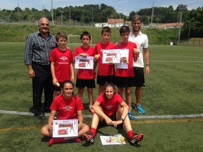 Primo turno di Natale del campus di calcio Iñaki Sáez