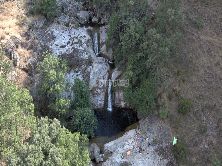Pozas de agua en Los Pilones