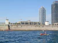 Rent a kayak in Barcelona 1 hour