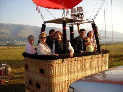 Balloon flight in Catalonia + diploma