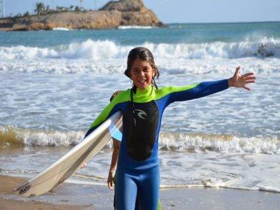 Alquiler equipo surf Puerto Mazarrón 1h