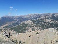 从山顶的景色