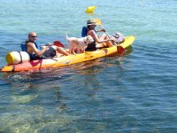 Alquiler de kayak doble