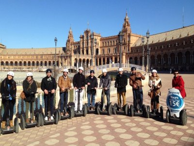 Segway ride across Seville 30 minutes