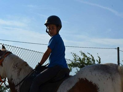 16 lessons voucher of horse riding in Merindades