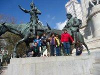 Con Quijote y Sancho