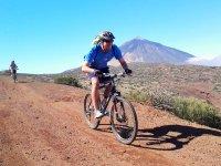 Ruta en bicicleta 50 km Parque Nacional del Teide