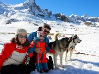 Mushing in Valle del Tena for Families