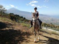 Montar a caballo en La Orotava