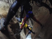 canyoning cave