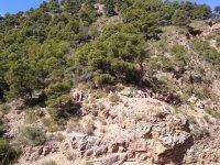 Hiking route through Cabo de Gata