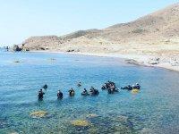 Dive in Almería