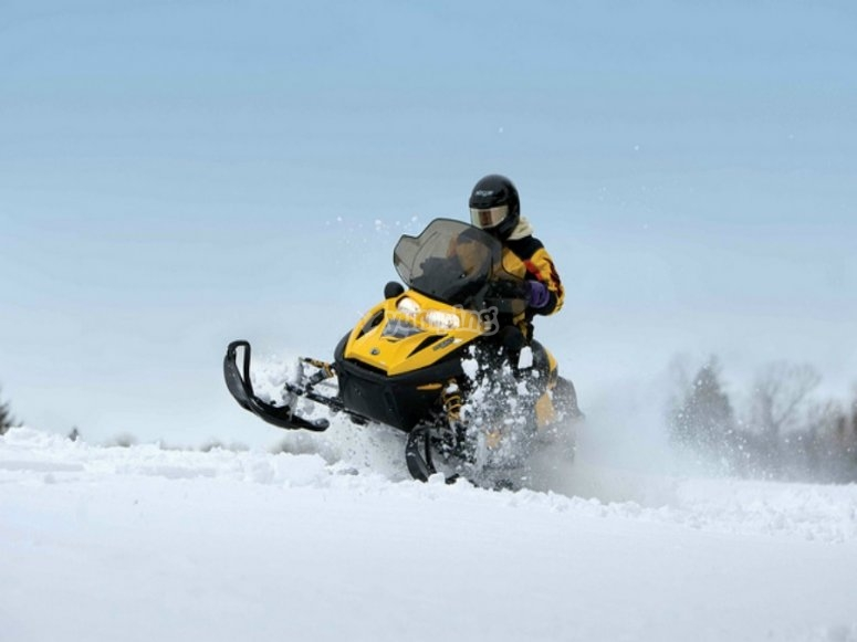 acelera con la nieve
