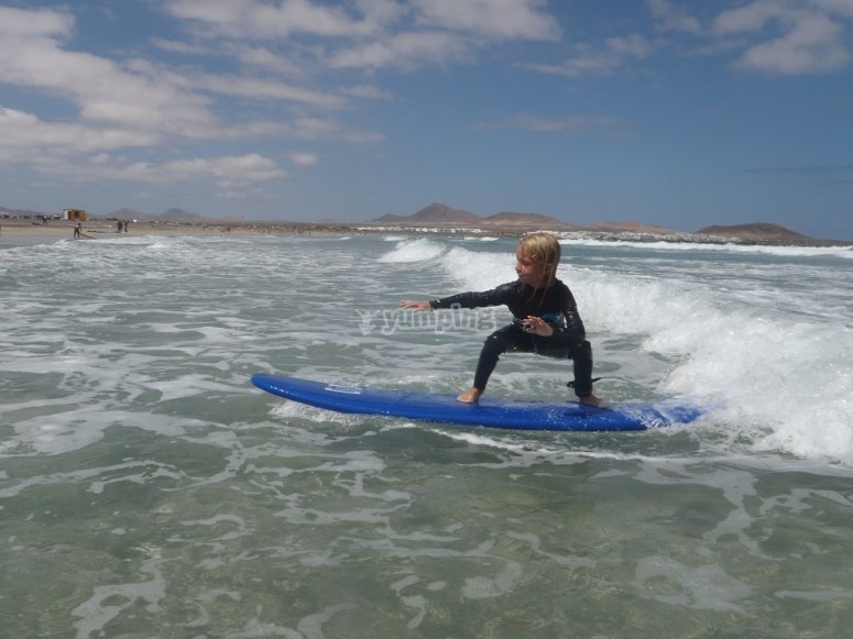 Clases de surf de todos los niveles