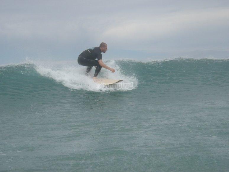 Cursos de surf en Lanzarote