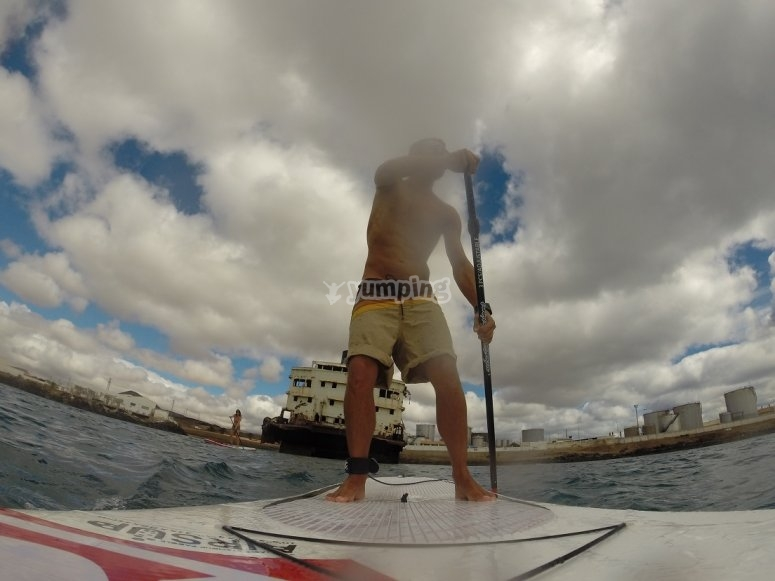 Paseo en paddle surf