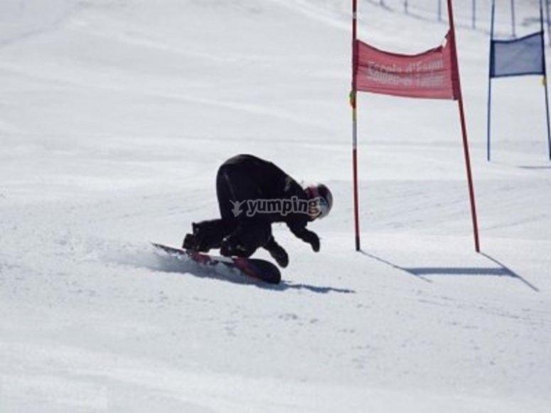 Prova lo snowboard