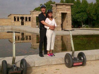 Ruta romántica en segway por Madrid 1h 30min