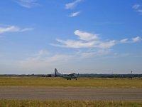 Cessna despegando del aeródromo