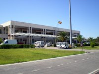 Entrance to Jerez airport