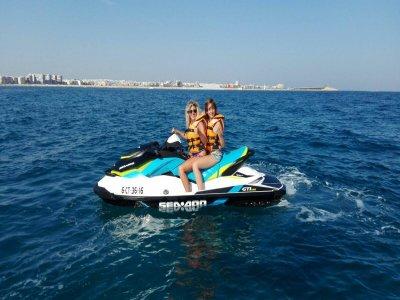 Gran excursión en moto de agua biplaza Torrevieja