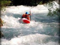 Cursos Kayak Aguas bravas