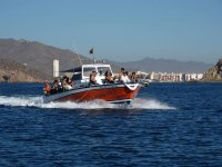 Boat sailing from Mazarron