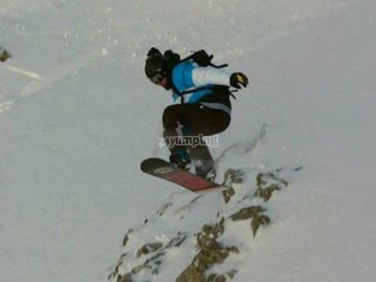 Lezioni di snowboard
