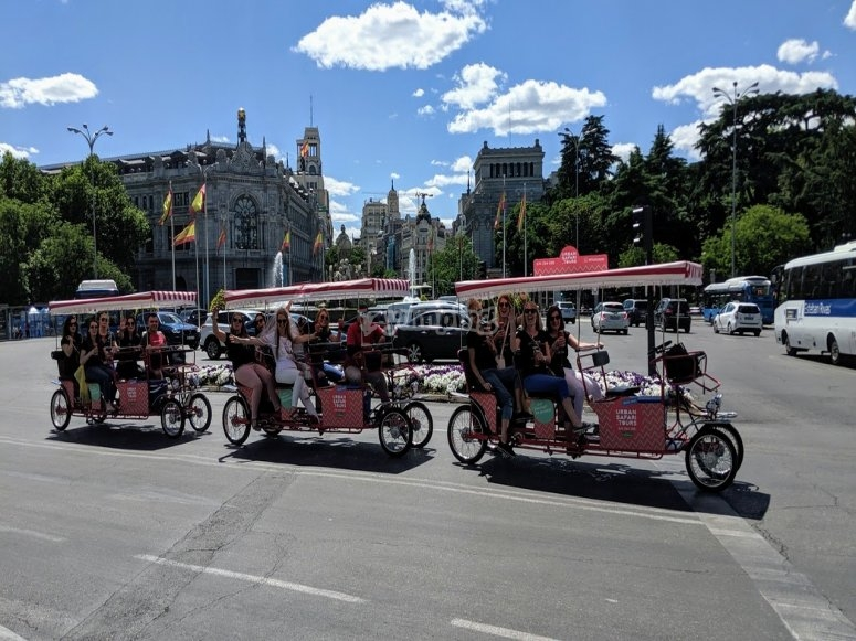 Rent your bike in Madrid