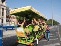 Bicicleta 1 litro de cerveza por persona Madrid