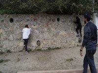 Climbing initiation class