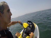 Controlling the jet ski