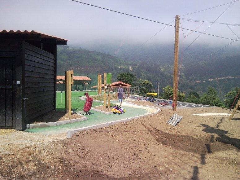 Instalaciones del parque