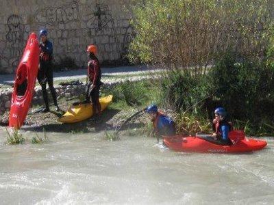 马拉加皮划艇4小时的入门课程