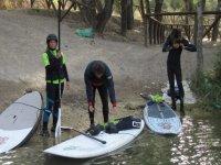 穿越桨冲浪马罗自然公园