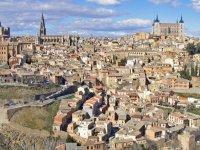panoramica de Toledo。