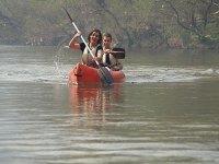 Pair of paddlers