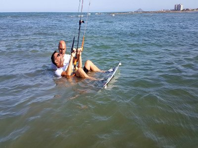12h Kitesurfing initiation course in Murcia