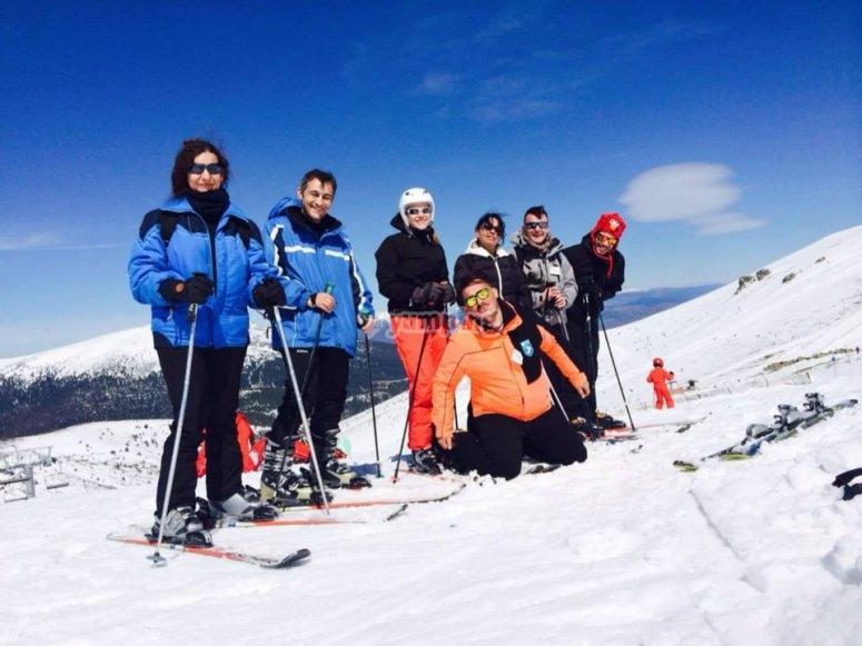滑雪板准备