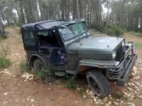 Vehiculo de combate abandonado