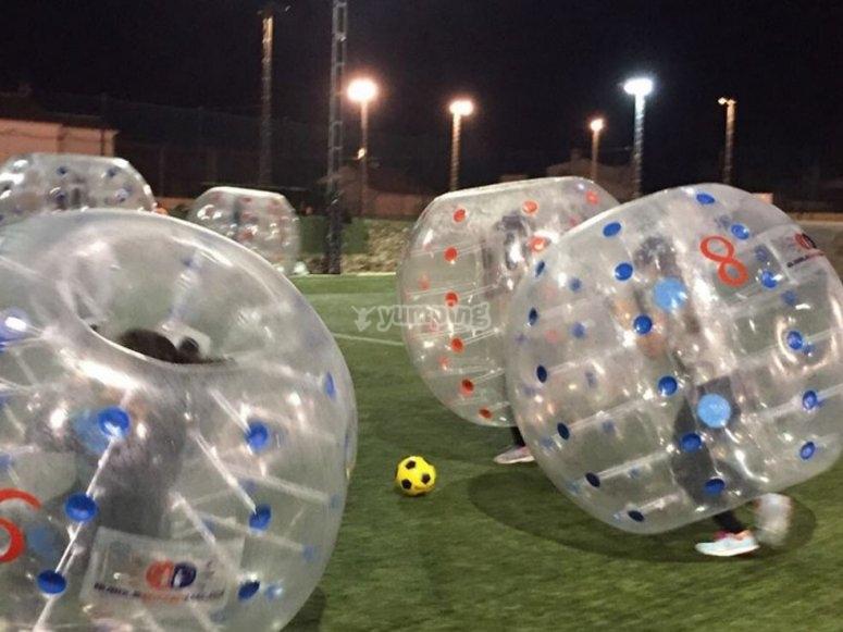 Burbujas a por el balon