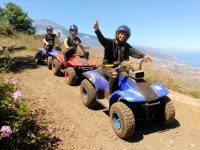 Enjoy the adventure in groups on a guad