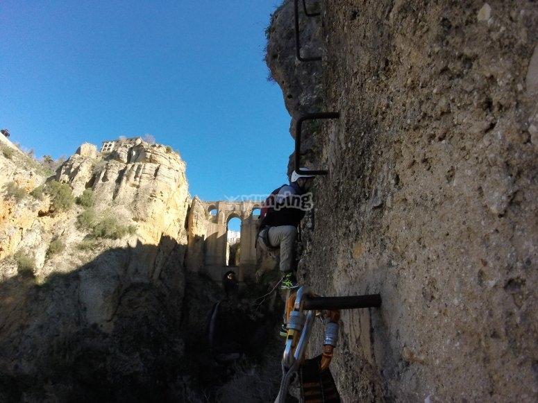Vía Ferrata en Ronda